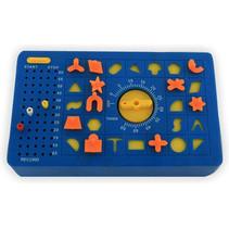 behendigheidspel Time Shock junior blauw