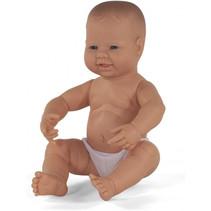 babypop jongetje met vanillegeur 40 cm