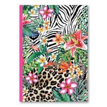 schrift Wild Thing lijn A5 14,8 x 21 cm papier roze