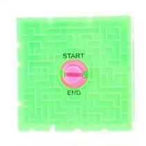 hersenkraker labyrinth puzzel 6 cm groen