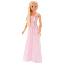 tienerpop 105 cm meisjes prinses roze