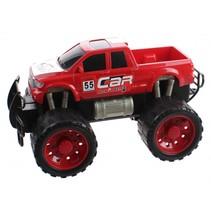monstertruck Friction Power jongens 29,5 cm rood