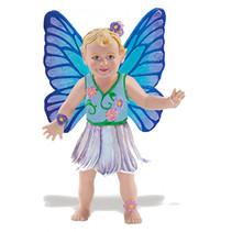 speelfiguur Daisy The Fairy Baby meisjes 7 cm blauw