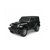 RC Jeep Wrangler JL jongens 27 MHz 1:24 zwart