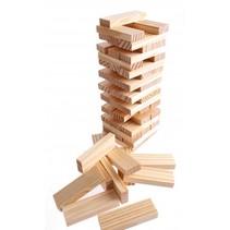 stapelspel hout 60-delig
