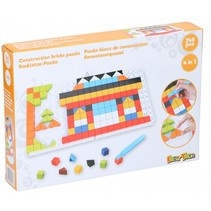 mozaïekpuzzel 4-in-1 junior oranje 248-delig
