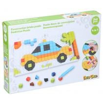 mozaïekpuzzel 4-in-1 junior groen 248-delig