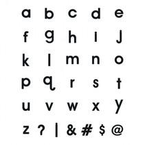 letters magnetisch 24 x 10 cm EVA zwart 120 stuks
