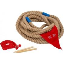 touwtrekken set 4-delig 10  meter