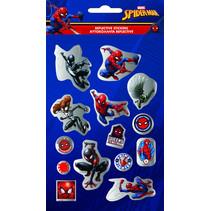 stickers Spider-Man glanzend junior papier