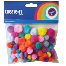 knutselset Create it - Bright mix 75 stuks