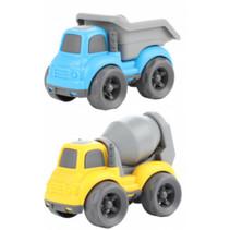 speelgoedauto Little Stars 14 cm geel/blauw 2-delig
