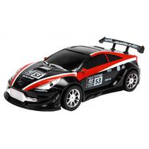 raceauto Race Car jongens 25 cm zwart/rood