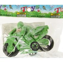 speelgoedmotor junior 8,5 cm groen