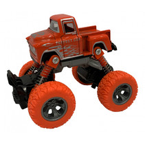 monstertruck jongens 11,5 cm staal oranje