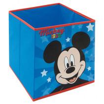 opbergbox Mickey Mouse 30 liter polypropyleen blauw