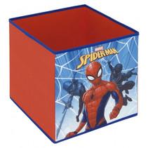 opbergbox Spider-Man 30 liter polypropyleen rood/blauw