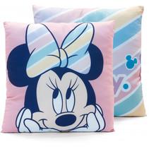 kussens Minnie Mouse junior 40 cm microfiber roze