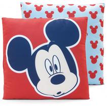 kussens Mickey Mouse junior 40 cm microfiber rood/blauw