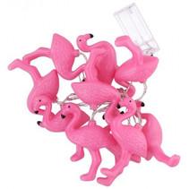 decoratieverlichting led flamingo 165 cm PVC roze
