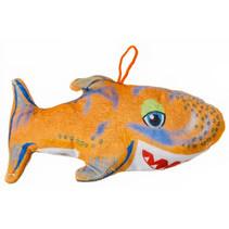knuffelhaai junior 22 cm pluche oranje
