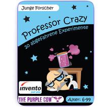 professor Crazy jonge onderzoekers experimenten junior 20 kaarten