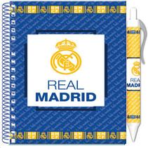 notitieboekje junior 10 x 15 cm papier blauw 2-delig