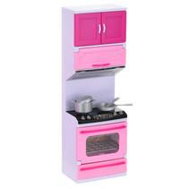 speelset fornuis met licht en geluid 31 cm roze