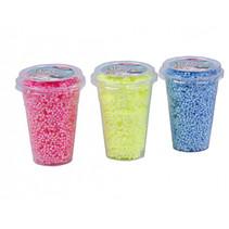 foam klei 3x250 ml neon colors geel/blauw/roze