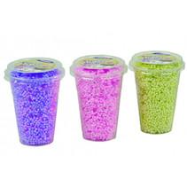 foam klei 3x250 ml neon colors paars/groen/roze