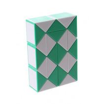 3D-puzzel Magic Snake junior groen/wit