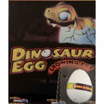 groei-ei dinosaurus jongens 6 cm wit