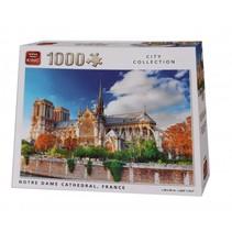 legpuzzel Notre Dame De Paris Cathedral 1000 stukjes