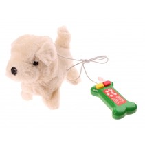 Puppy Pet hond met afstandsbediening wit