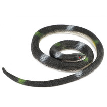 speeldier Animal World slang 150-200 cm rubber zwart