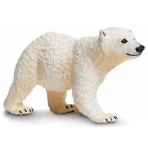 speeldier ijsbeerwelp junior 7 x 4 cm wit