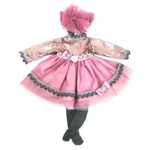 poppenkleding My Girl meisjes 35 cm textiel roze
