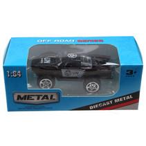 jeep Off Road jongens 13 cm die-cast zwart