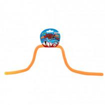 rekbaar touw met glitters junior oranje 5 meter