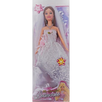 tienerpop The Beautiful Princess meisjes 29 cm rood