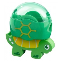 gum en puntenslijper schildpad groen 6 cm
