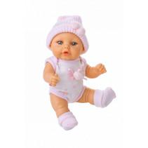 babypop kleertjes Mini Baby textiel roze