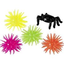 kruipende sterren/spinnen 2,5 x 3 cm 20-delig