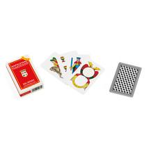 speelkaarten Napoletane Extra karton rood 40-delig