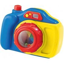 speelgoedcamera Focus Pocus 13 cm blauw/geel
