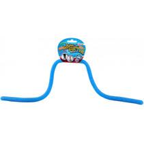 rekbaar touw met glitters junior blauw 5 meter