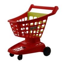 100% Chef: winkelwagen rood 42 x 36 x 45 cm
