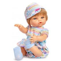 babypopkleding meisjes textiel blauw 3-delig