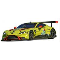 racebaanauto Aston Martin Vantage GTE No. 95 geel