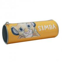 etui Simba junior 22 x 7 cm polyester/nylon geel